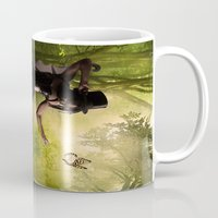 tinker bell Mugs featuring Tinker Bell by Best Light Images