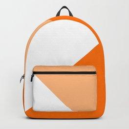 Orange Angles Backpack