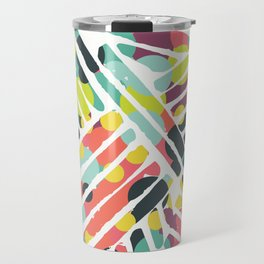 Rainbow stitch Travel Mug