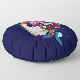 joker in colorful popart style Floor Pillow