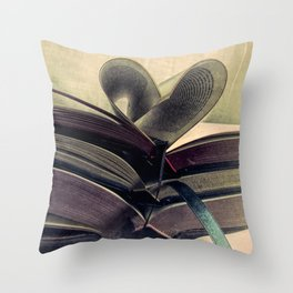 For the Love of Books A429 Throw Pillow