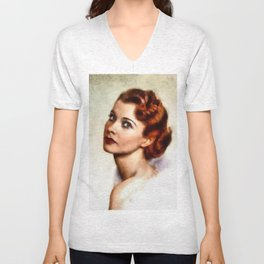Vivien Leigh, Hollywood Legend Unisex V-Neck