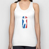 nba Tank Tops featuring NBA by Free Specie