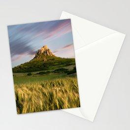Medieval castle Slovakia Europe summer landscape sunset  Stationery Cards