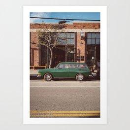 Los Angeles Arts District Art Print