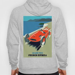 Retro style auto Grand Prix Rivièra Hoody