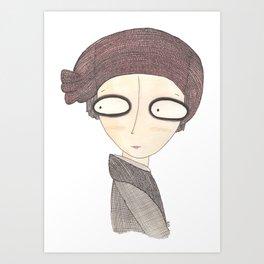 Le coquelicot Art Print