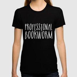 Professional bookworm - Inverted T-shirt