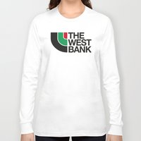 palestine Long Sleeve T-shirts featuring The West Bank by Yusef Mubeen