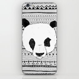 PANDA PATT! iPhone Skin