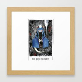 The High Priestess - Tarot Collection Framed Art Print