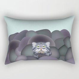 Pallas' Cat Rectangular Pillow