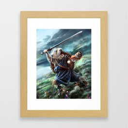Bruno the Brave Framed Art Print