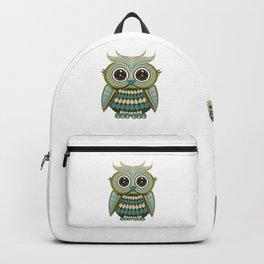Star Eye Owl - Green Backpack