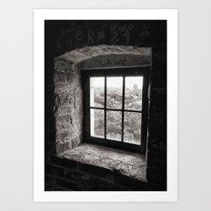 window of opportunity Art Print