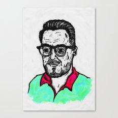 Selfy, Raúl Canvas Print