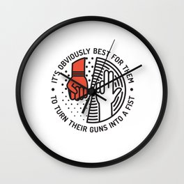 GH Wall Clock