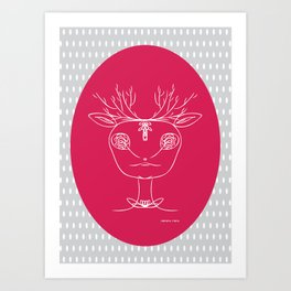 Cherry Dear II Art Print