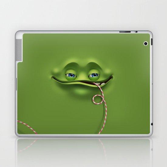 Joyful face Laptop & iPad Skin