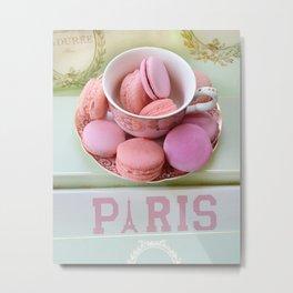 Paris Laduree Macarons Metal Print