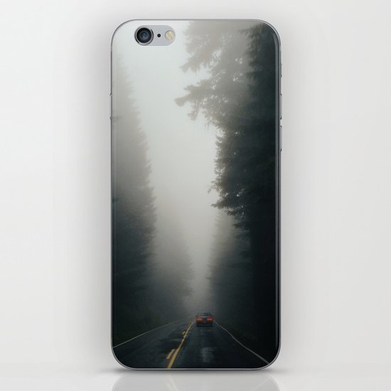 Dark Forest Driving iPhone & iPod Skin