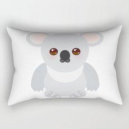 Funny cute koala Rectangular Pillow