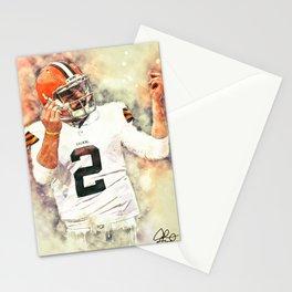 Johnny Manziel Stationery Cards