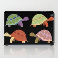 turtles iPad Cases featuring Turtles by TypicalArtGuy