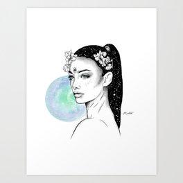 Virgo - Zodiac Series Art Print