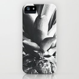 Silver Pineapple iPhone Case