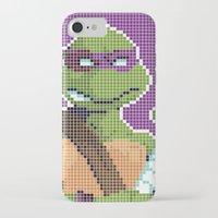 teenage mutant ninja turtles iPhone & iPod Cases featuring Teenage Mutant Ninja Turtles - Donatello by James Brunner