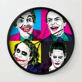 Pop Quad: The Joker Wall Clock