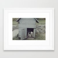 puppies Framed Art Prints featuring Puppies by JoeHep