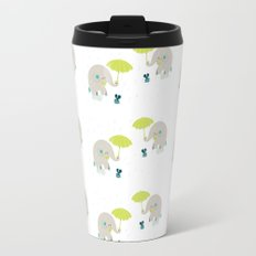 Rain Pattern Travel Mug