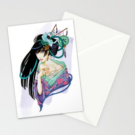 WaterGeisha Stationery Cards