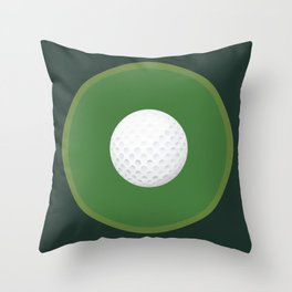 Golf: Bullseye Throw Pillow