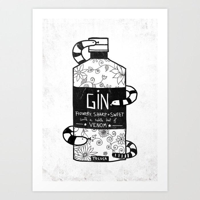 GIN Art Print
