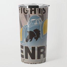 Space Wolves Propaganda Travel Mug