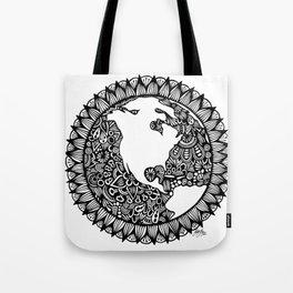 Zentangle - Zen World  Tote Bag