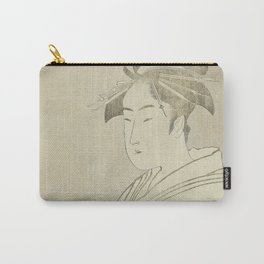 Miyahito of the Ogiya Carry-All Pouch
