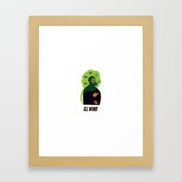 Ill Wind Framed Art Print