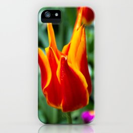 Love Wall Flower iPhone Case