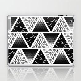 Zentangle Triangles Laptop & iPad Skin