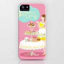 Miss Norbitt's Tea Party iPhone Case