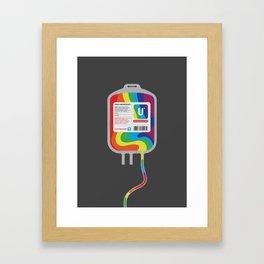 Fairytale Transfusion Framed Art Print