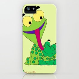 Froggy's Father's Day iPhone Case