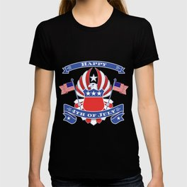 4th of July Eagle Coat of Arms - Independence Day T-shirt