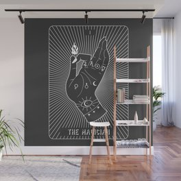 Minimal Tarot Deck The Magician Wall Mural