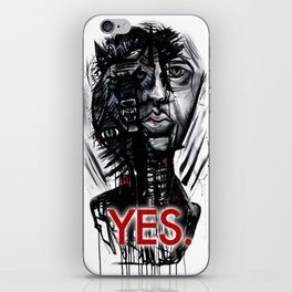 YES wolf iPhone Skin