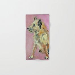 Marvelous Mystery Mutt Dog Portrait Hand & Bath Towel